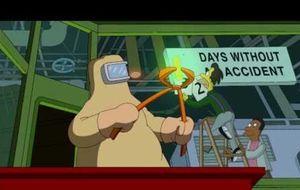 Los Simpson hacen autocrítica con Banksy