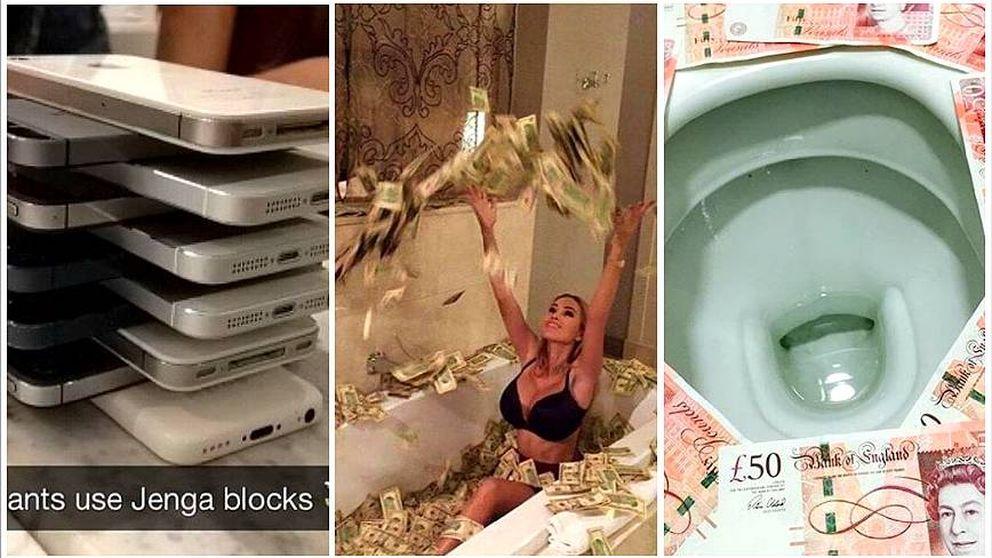 Los niños ricos de Instagram: así derrochan y se burlan de gente como tú