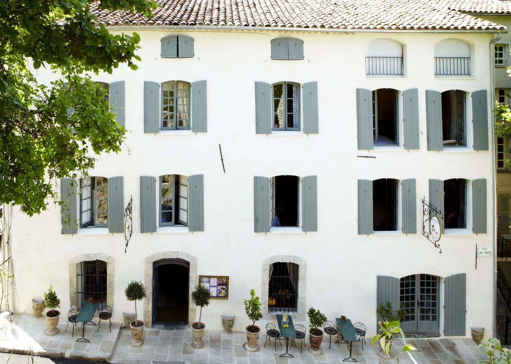 Foto: El encantador Des Deux Rocs en el igualmente encantador Seillans, en Francia. (Cortesía)