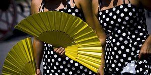 Foto: No pises la Feria de Málaga, que llevas chanclas