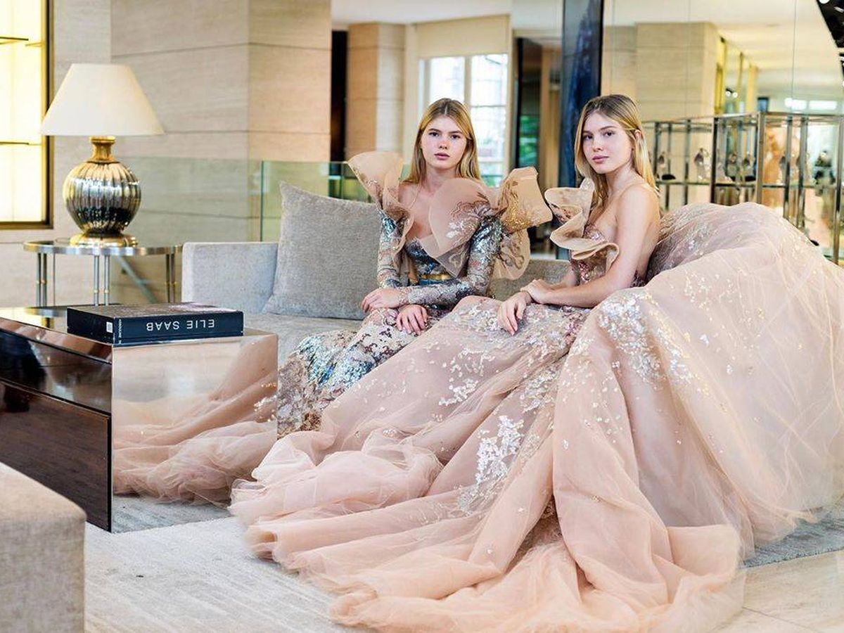 Foto: Las hijas de Julio Iglesias se preparan para Le Bal. (Redes)