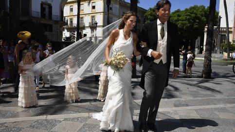 Carla Vega-Penichet: un vestido romántico de Sole Alonso para el gran día