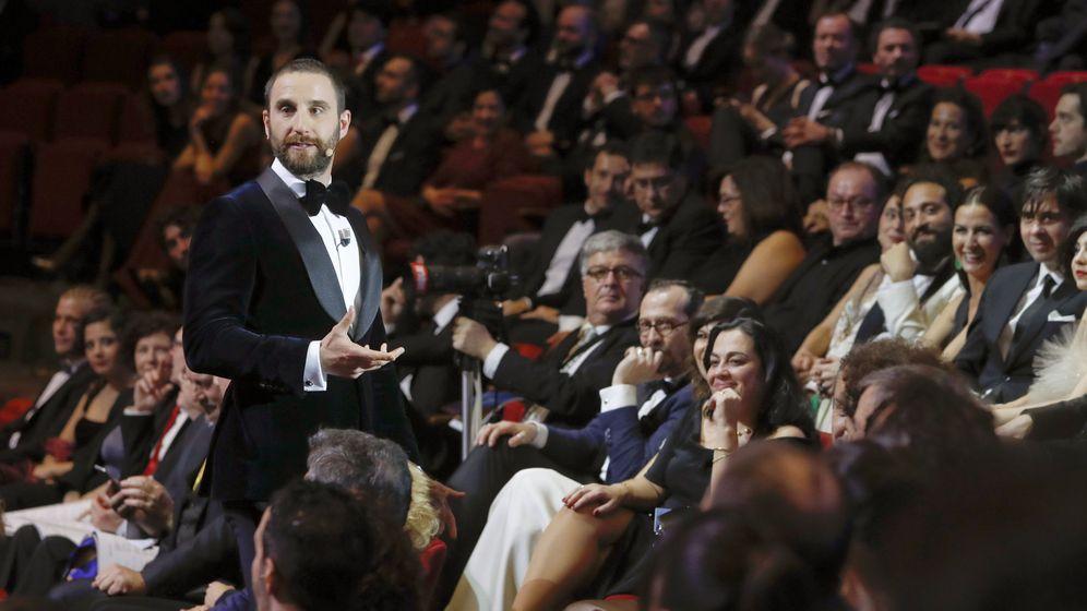 Foto: El actor Dani Rovira durante la gala de los Goya. (EFE)