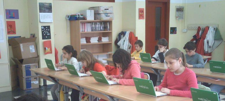 Foto: Uno de los colegios del País Vasco donde se implantó el proyecto Eskola 2.0