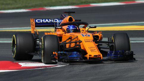 Alonso, sexto en el estreno del 'nuevo' McLaren: Tiene mucho, mucho más agarre