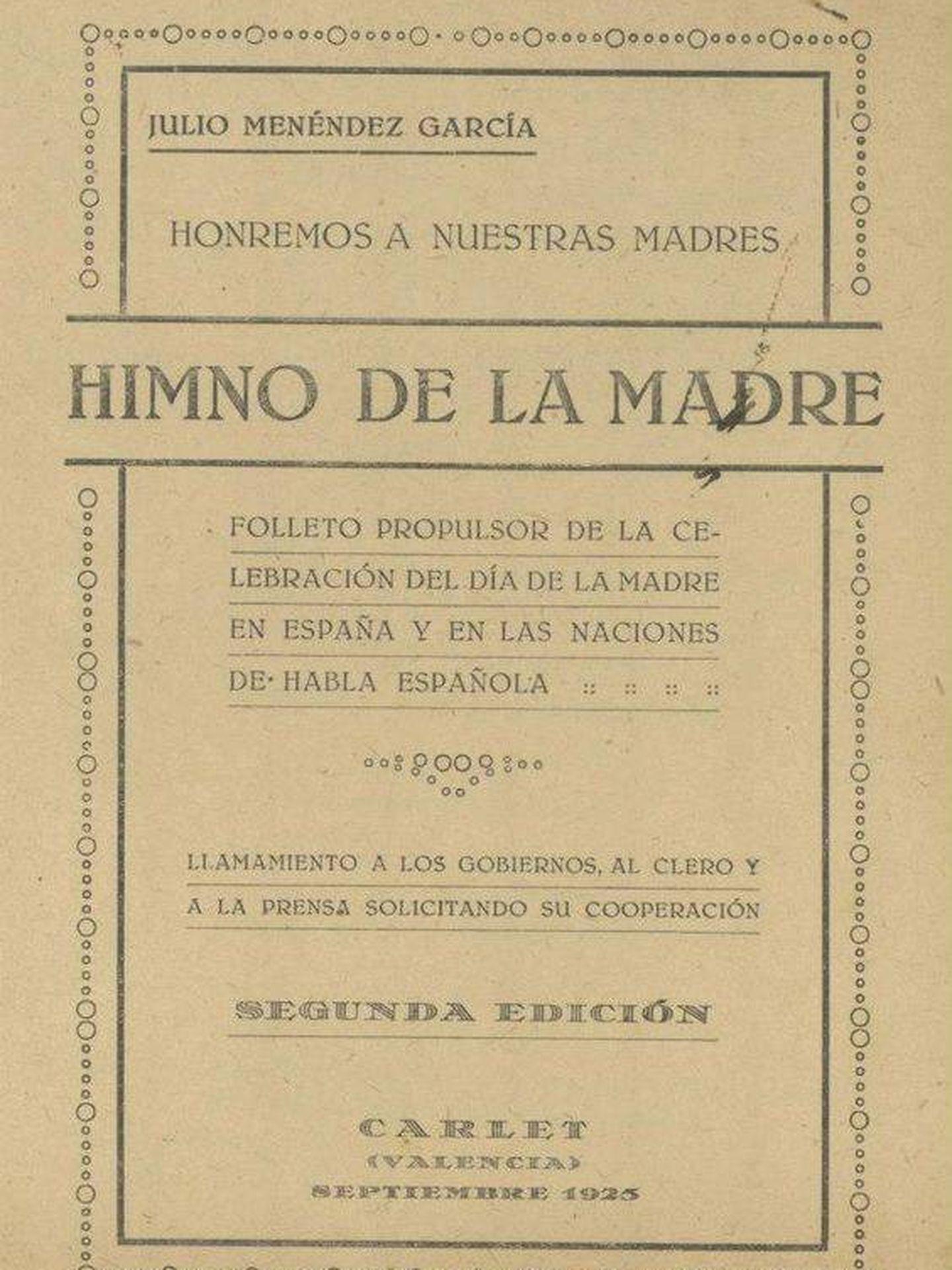Himno de la madre   Foto: Archivo de la Diputación Provincial de Málaga