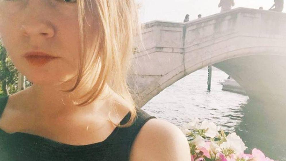 Foto: Anna en Venecia, en una de las fotografías de su perfil de Instagram.