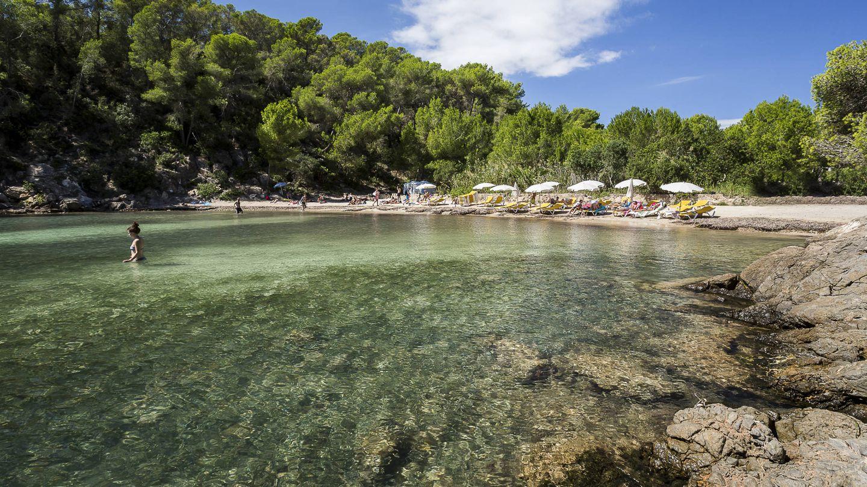 Cala Mastella, un refugio refrescante al norte de la isla. (Foto: Visit Santa Eulalia)
