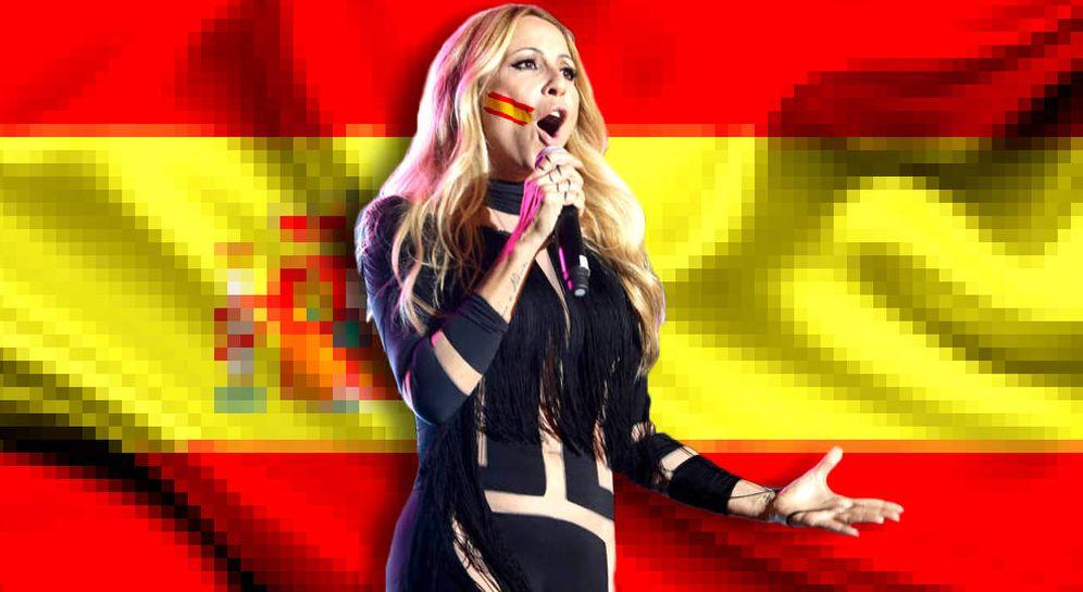 letra del himno de España Marta Sánchez