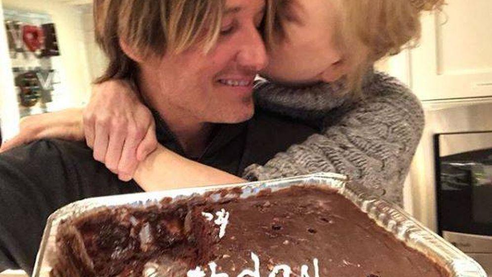 Foto: La pareja celebra el cumpleaños en una foto de Instagram.