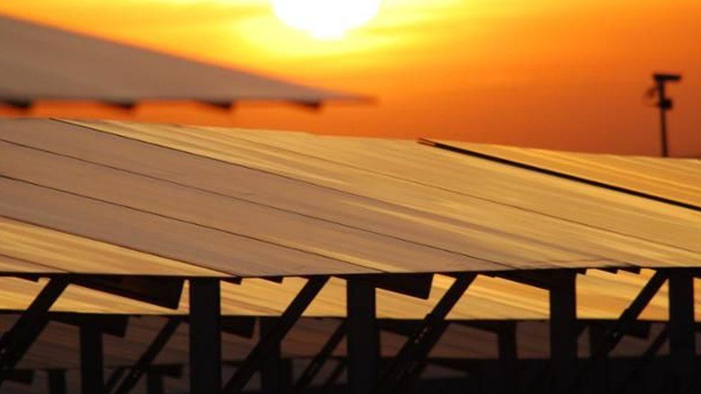 Foto: Una planta fotovoltaica de Isolux.