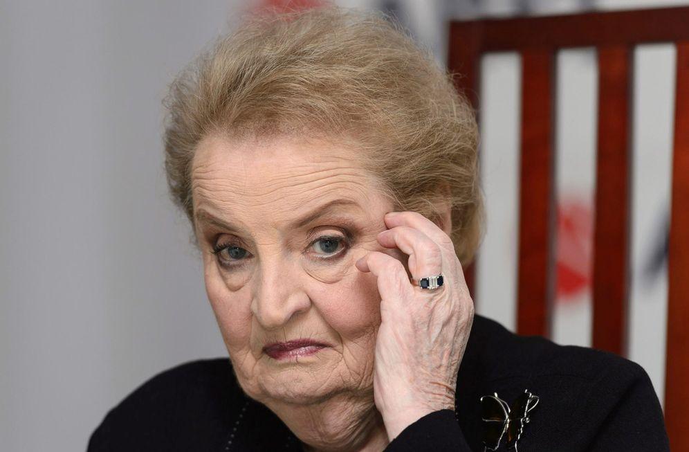 Foto: Madeleine Albright. (EFE)