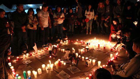 Homenaje a los fallecidos en los terremotos de México