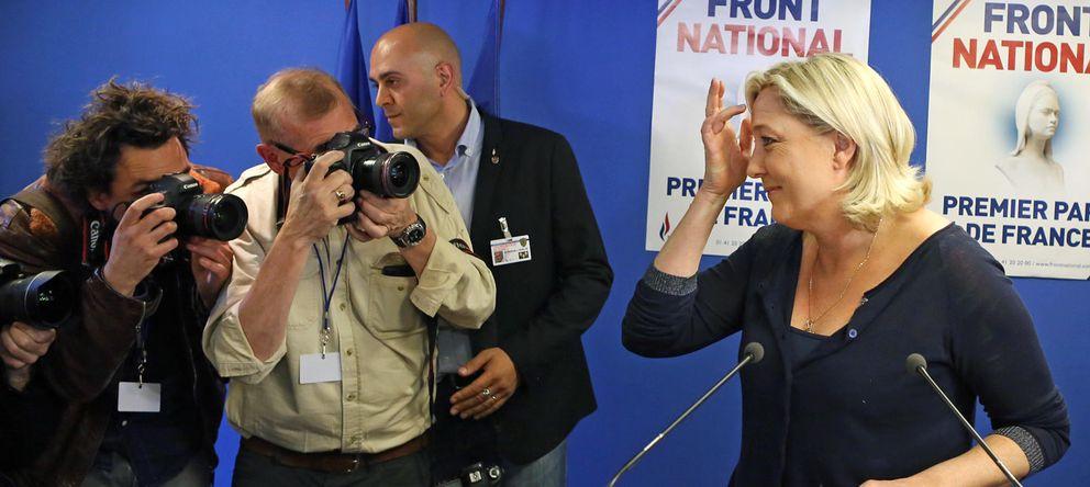 Foto: La líder del Frente Nacional Marine Le Pen (Foto: AP)