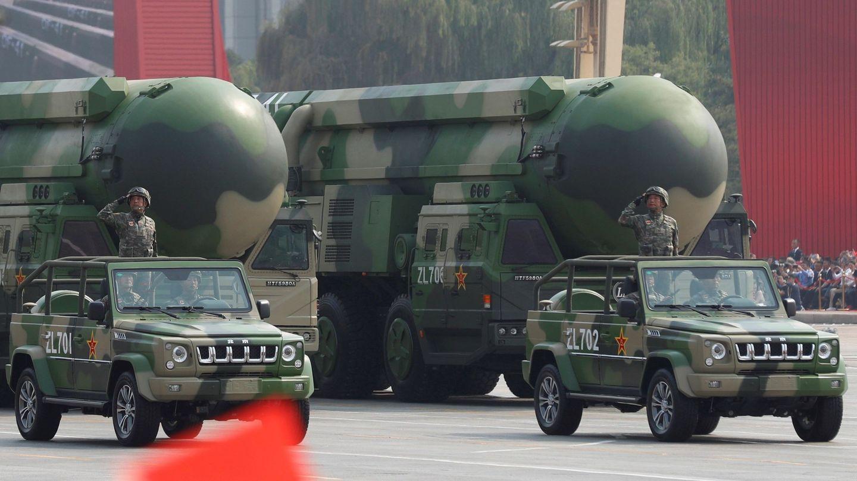 Desfile militar por las calles de Pekín (EFE EPA/WU HONG)