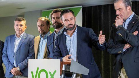 Abascal (Vox): Parece que en Ciudadanos no nos pueden tocar ni con un palo