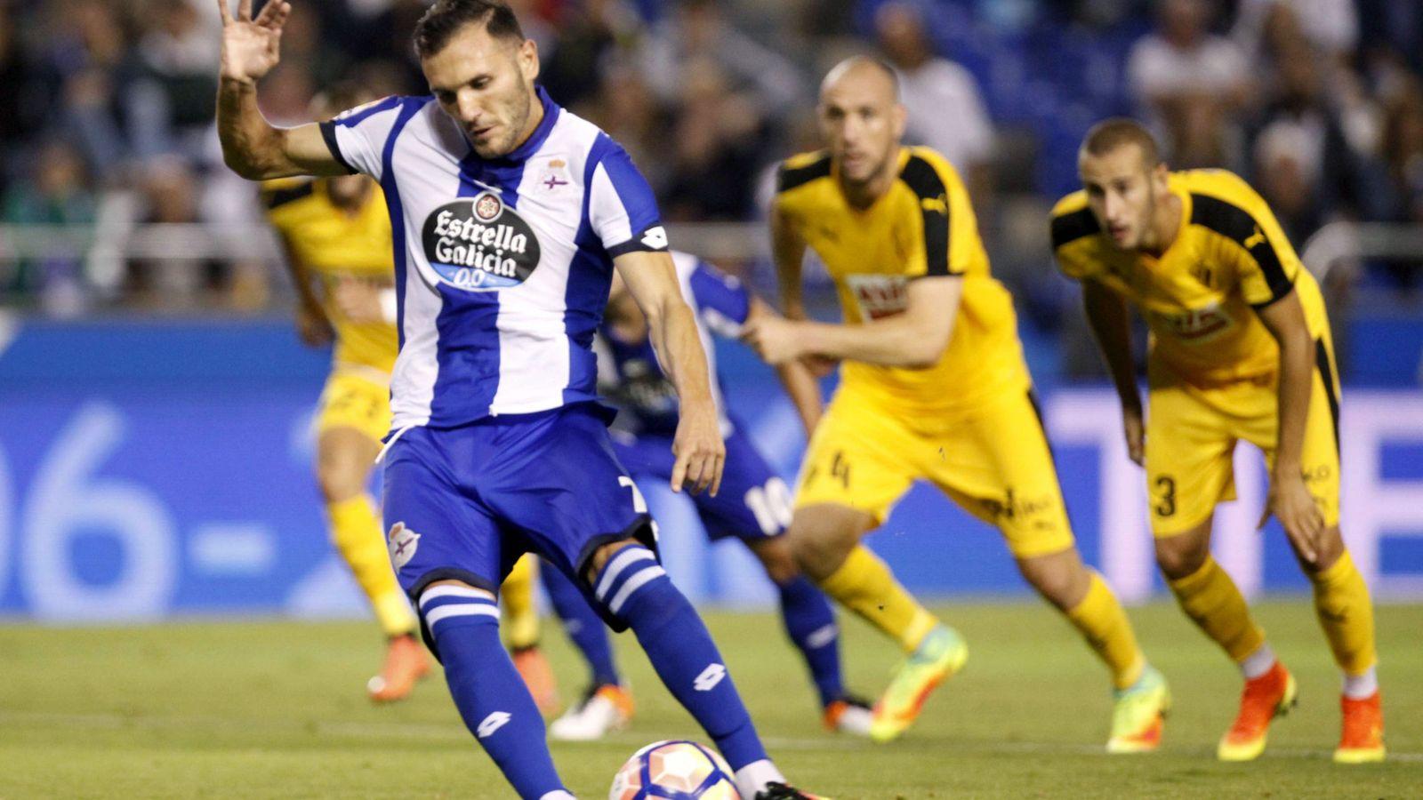 Foto: Lucas Pérez es claro objetivo del Everton para reforzar la plantilla de Ronald Koeman (EFE)