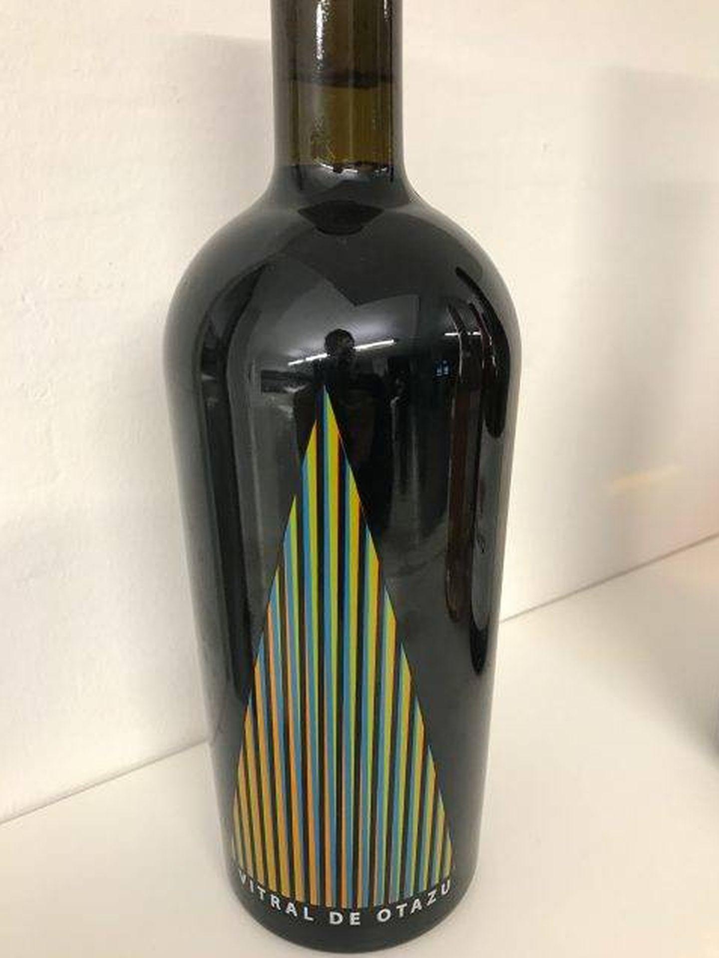 La botella del vino en cuestión.