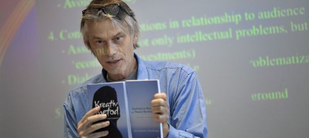 Foto: Mats Alvesson, profesor de la School of Economics and Management de la universidad de Lund (Suecia).