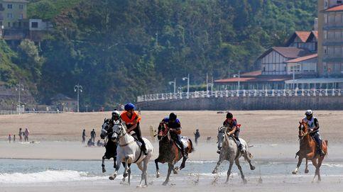 Carreras caballos en Ribadesella
