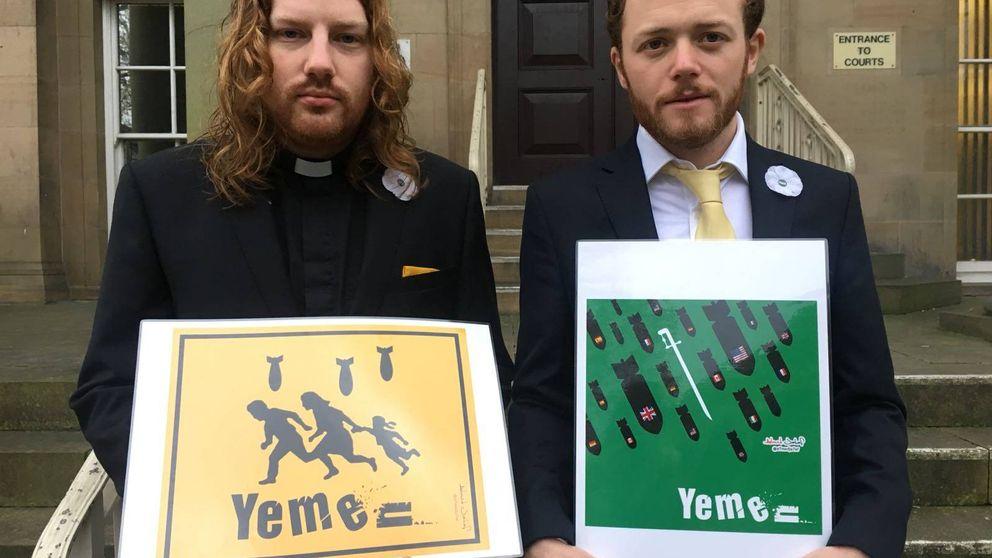 Los activistas que quisieron sabotear el armamento británico en Yemen... y ganaron