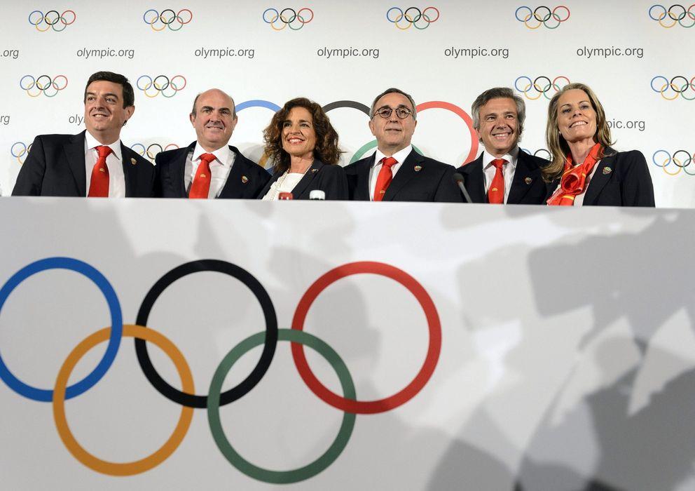 Foto: Los miembros de la candidatura de Madrid confían en ser olímpicos (Efe).