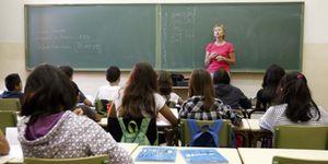 Foto: Los alumnos andaluces llevan un curso y medio de retraso respecto a los madrileños