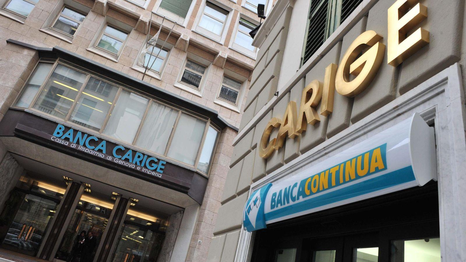 Foto: Fachada de Banca Carige en Génova. (EPA)