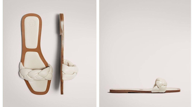 Las sandalias de Massimo Dutti (Cortesía)