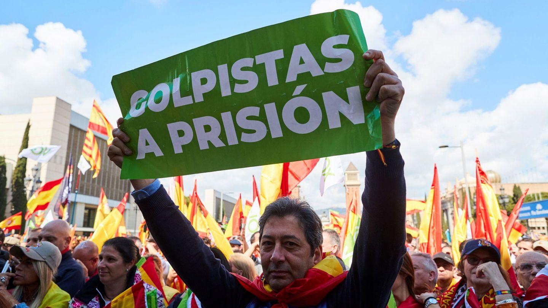 Manifestación de Vox por la unidad de España. (EFE)