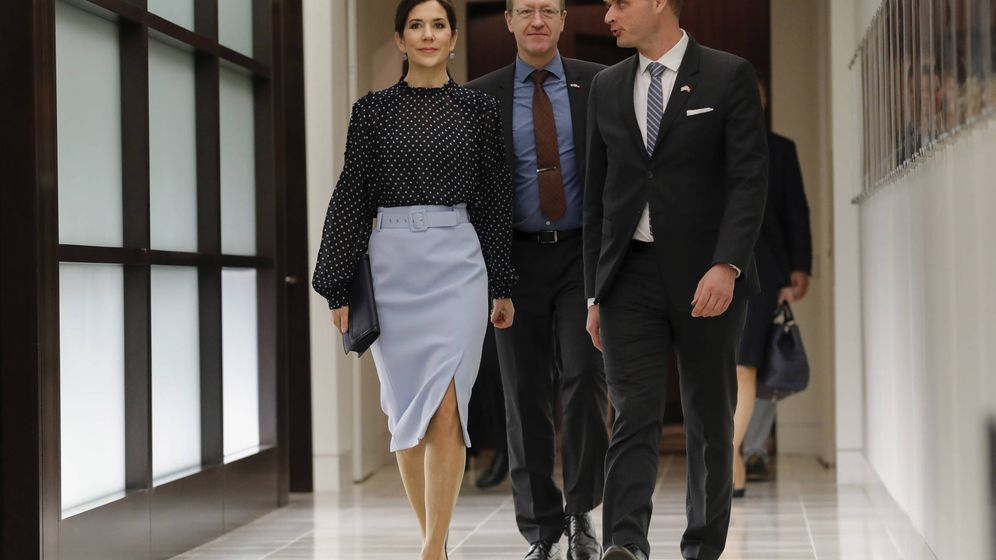 Foto: La princesa Mary en Texas. (Getty)