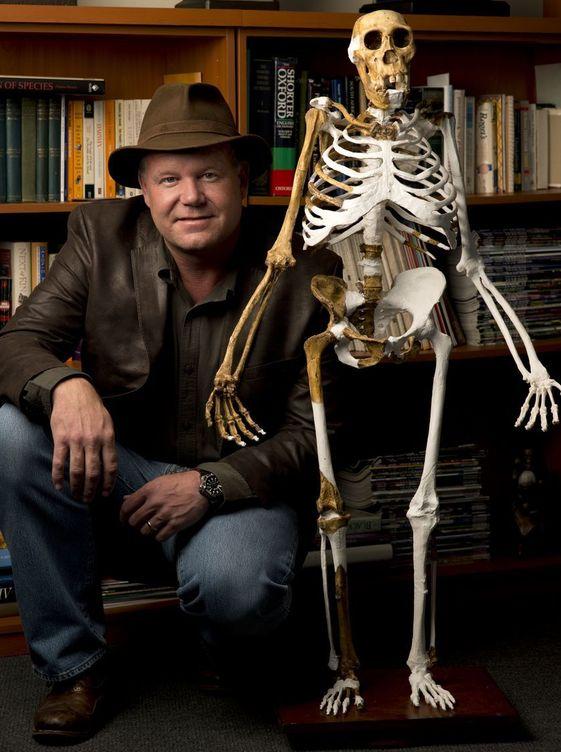 Foto: Lee R. Berger, descubridor del Homo naledi