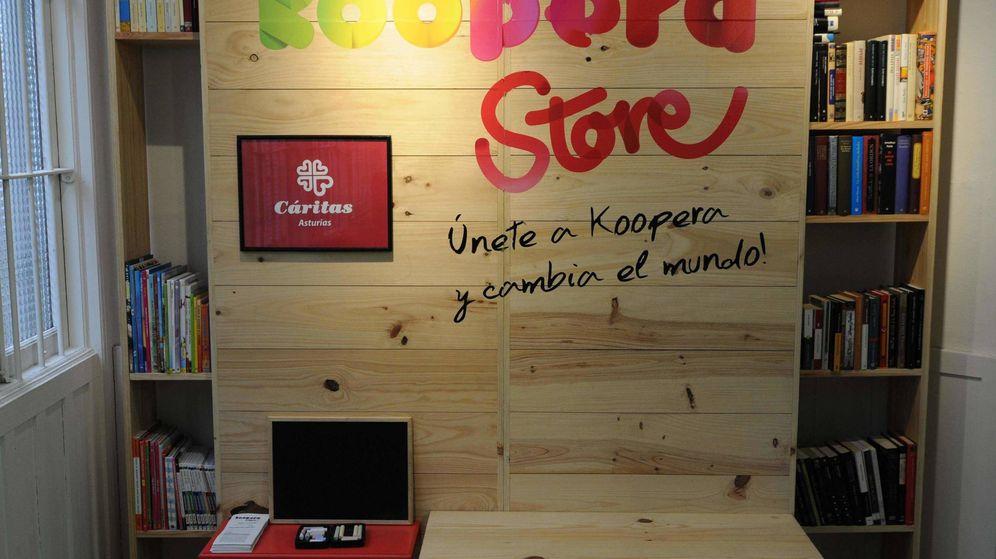 Foto: Koopera es una de la cadena de tiendas solidarias de Cáritas