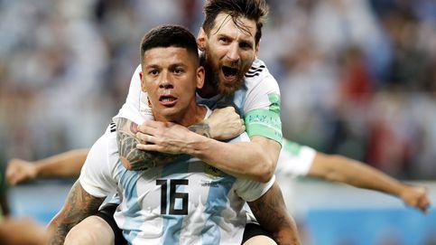Un gol de Rojo da una clasificación épica a Argentina para octavos