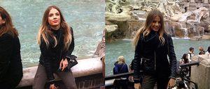 El romántico viaje de Fernando Alonso y Xenia Tchoumitcheva a Roma