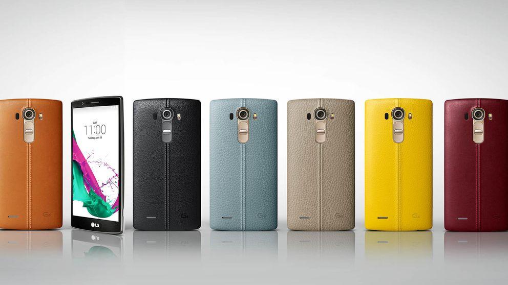 LG viste de cuero a su nuevo G4, que sólo destaca por las cámaras de fotos