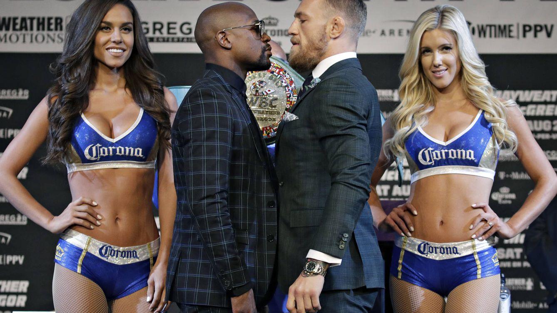 Conor McGregor contra Floyd Mayweather: el combate de la extravagancia y el lujo