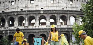 Post de La degradación de Roma: sexo en el Foro Romano, suciedad y transporte caótico