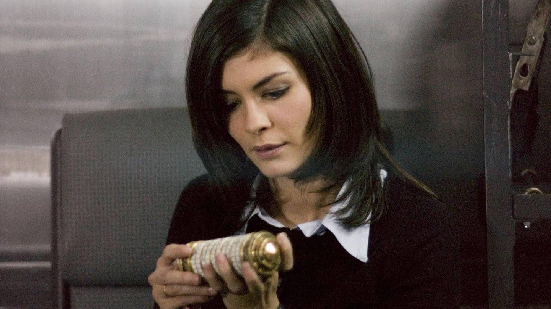 Sophie (Audrey Tautou) en un momento de 'El código Da Vinci'.