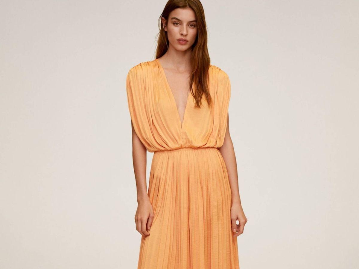 Foto: Un vestido de Mango. (Cortesía)
