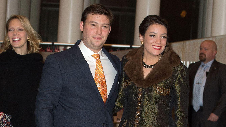 Foto: El príncipe Sebastián junto a su hermana, la princesa Alexandra