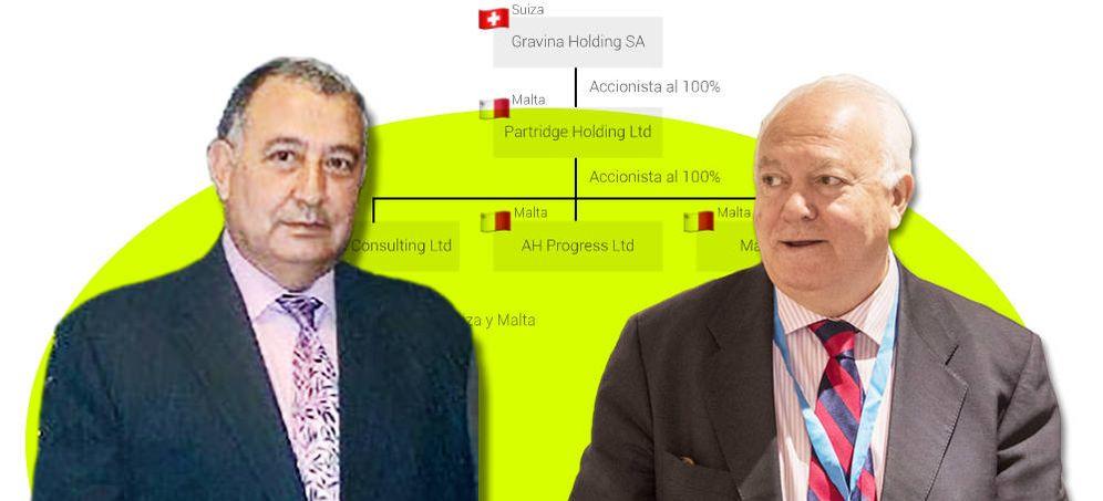 Foto: Pedro Hermosilla y Miguel Ángel Moratinos. (Imagen: EC)