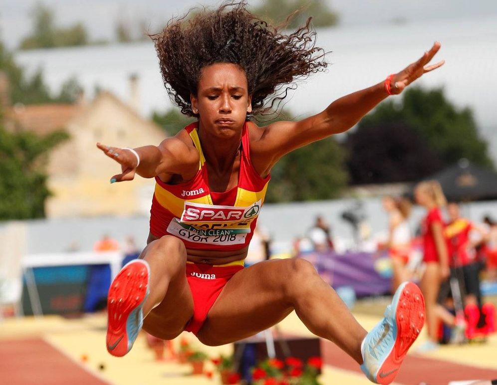 Foto: María Vicente, en el Campeonato de Europa. (European Athletics)