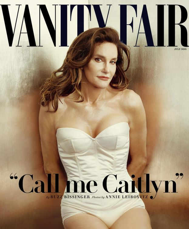 Foto: Caitlyn Jenner en la portada de 'Vanity Fair'