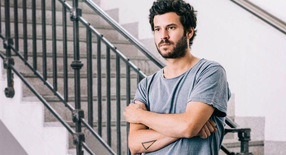 Foto: Willy Bárcenas en una publicidad de Vodafone.