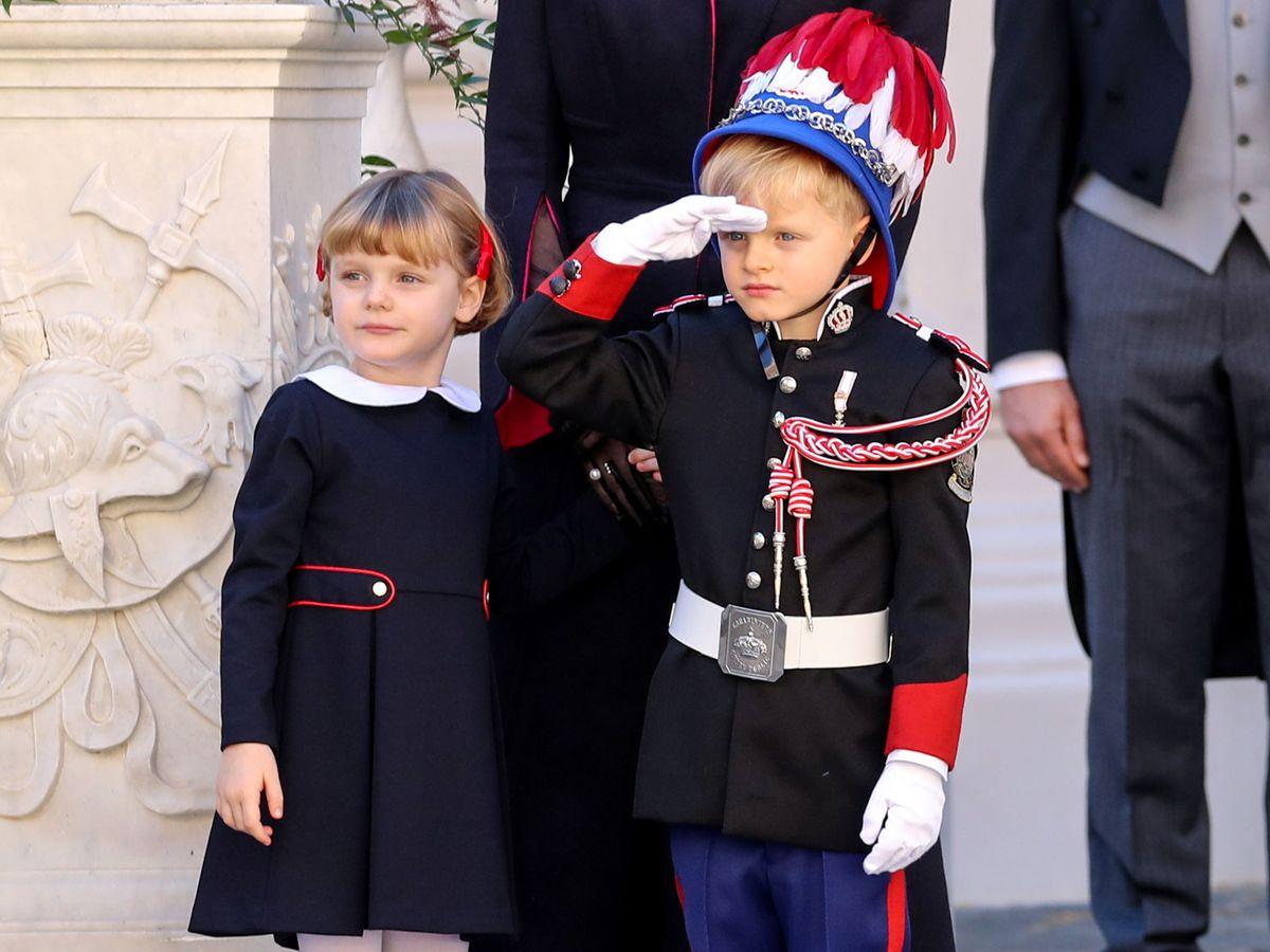 Foto: Jacques y Gabriella de Mónaco. (Reuters)
