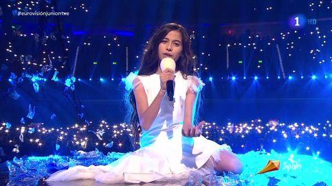 'Eurovisión Junior': así ha sido la actuación de Melani García con la canción Marte