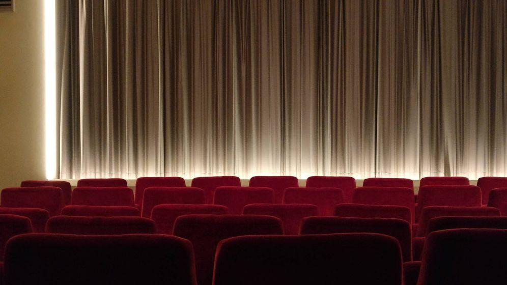Foto: Sala de cine antes de una proyección | Pixabay