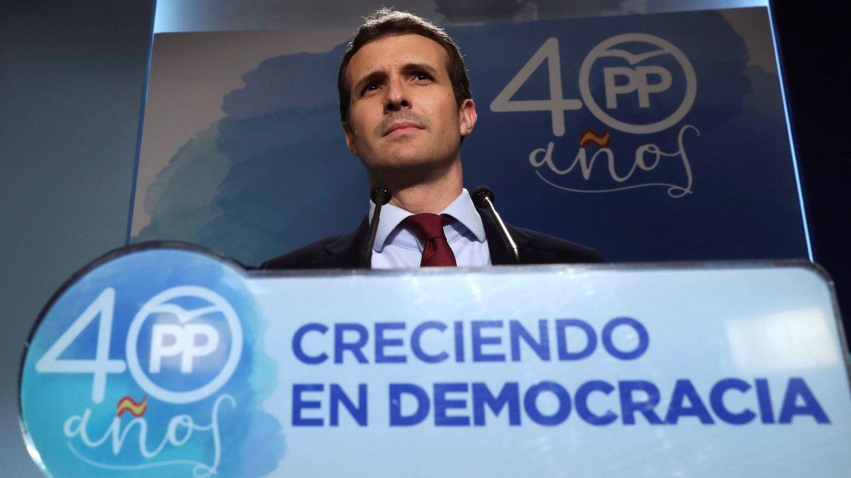 El vicesecretario general de Comunicación del Partido Popular, Pablo Casado. (EFE)
