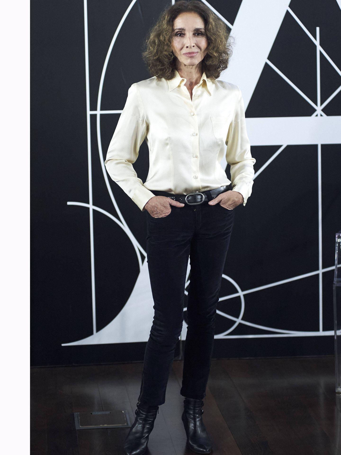 Ana Belén, en la rueda de prensa de los Goya 2017. (Getty)